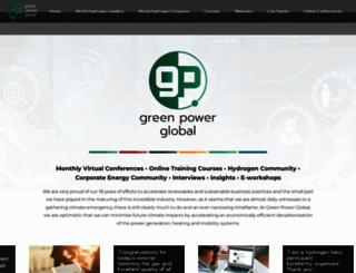 greenpowerconferences.com screenshot
