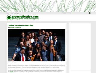 greenreflection.com screenshot
