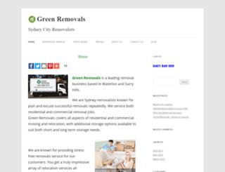 greenremovals.com.au screenshot