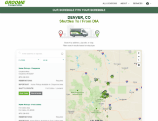 greenrideco.hudsonltd.net screenshot