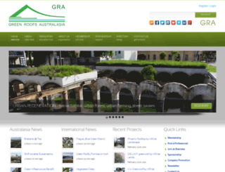 greenroofsaustralasia.com.au screenshot