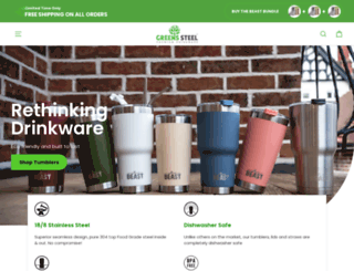 greens-steel.myshopify.com screenshot