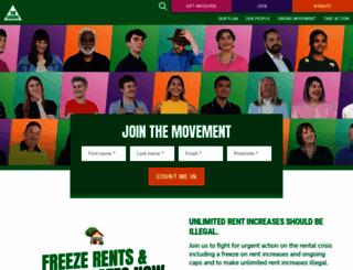 greens.org.au screenshot