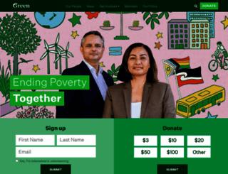 greens.org.nz screenshot