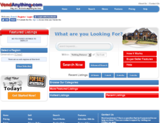 greensboro.vendanything.com screenshot