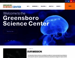 greensboroscience.org screenshot