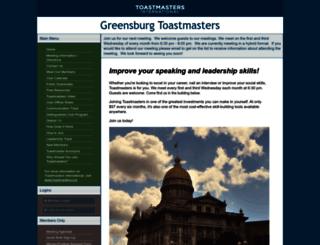 greensburg.toastmastersclubs.org screenshot