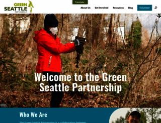 greenseattle.org screenshot