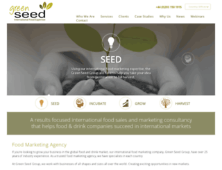 greenseedgroup.com screenshot