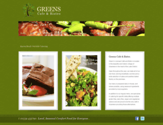 greensgrasmere.com screenshot