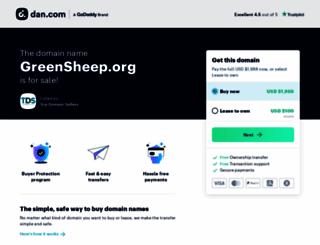 greensheep.org screenshot