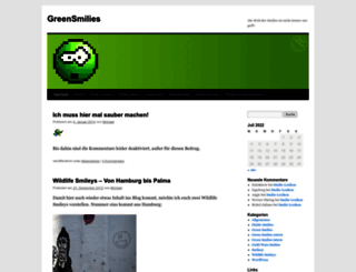 greensmilies.com screenshot