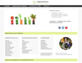 greensoul.de screenshot