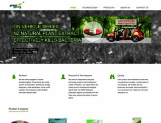 greenspring.co.nz screenshot