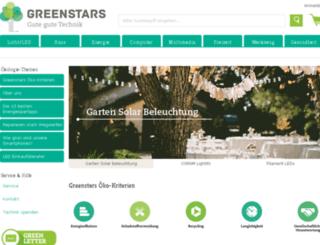 greenstars.de screenshot