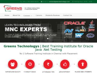 greenstechnologies.com screenshot