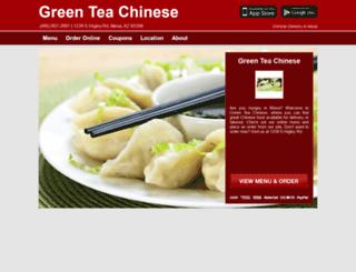 greenteachinesemesa.com screenshot