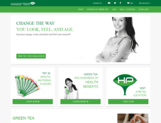 greenteahp.com screenshot