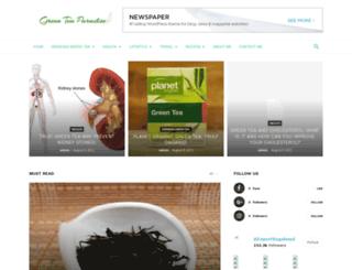 greenteaparadise.com screenshot