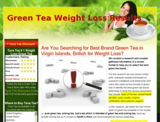 greenteaweightlossresults.com screenshot