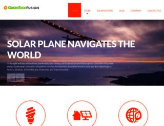 greentechfusion.com screenshot