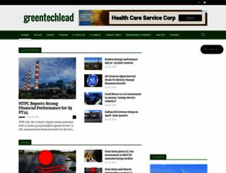 greentechlead.com screenshot