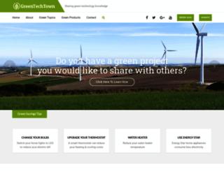 greentechtown.com screenshot