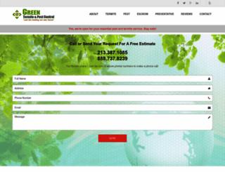 greentermite.com screenshot