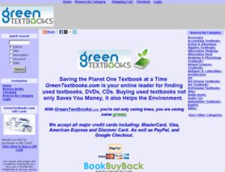 greentextbooks.co.uk screenshot
