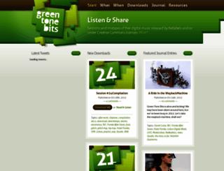 greentonebits.com screenshot