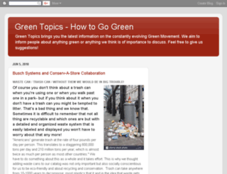 greentopics.blogspot.com screenshot