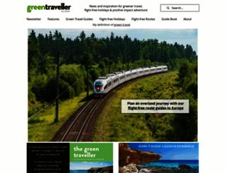 greentraveller.co.uk screenshot