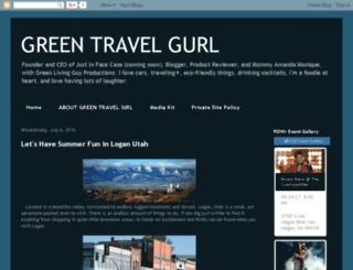 greentravellinggirl.blogspot.com screenshot