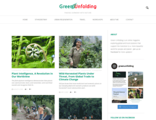 greenunfolding.com screenshot