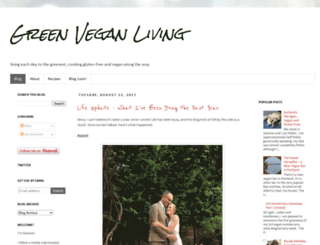 greenveganliving.com screenshot