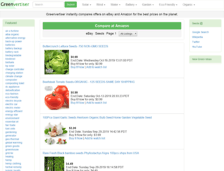 greenvertiser.com screenshot