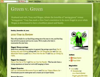 greenvgreen.blogspot.com screenshot