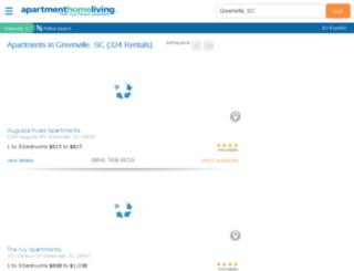 greenville.apartmenthomeliving.com screenshot