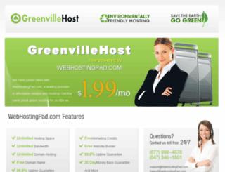 greenvillehost.com screenshot