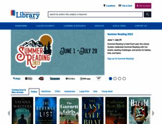 greenvillelibrary.org screenshot