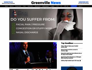 greenvilleonline.com screenshot