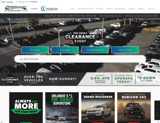 greenwaydodge.com screenshot