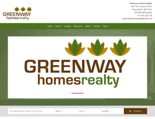greenwayhomesrealty.com screenshot