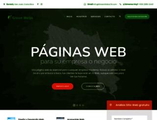greenwebscr.com screenshot