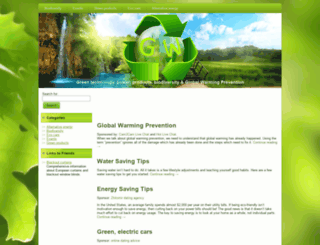 greenweek2010.eu screenshot