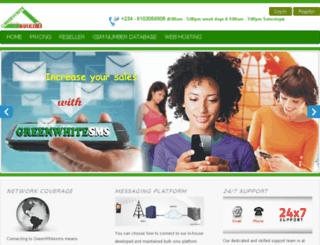 greenwhitesms.com screenshot