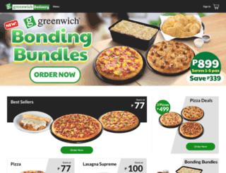 greenwich.com.ph screenshot