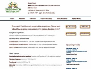 greenwich.sals.edu screenshot