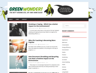 greenwonder.com screenshot