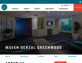 greenwooddental.com.au screenshot